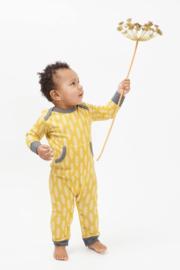 Fresk kruippakje / pyjama Havre Vintage Yellow