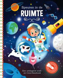 Mijn zaklampboek Speuren in de ruimte