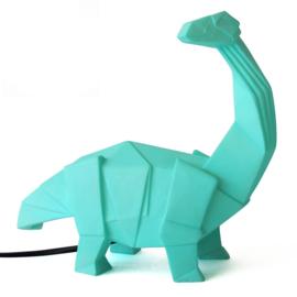 Brontosaurus dinosaurus origami lamp