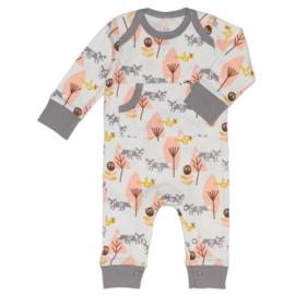 Fresk kruippakje / pyjama Fox Pink