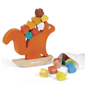 Eekhoorn Nutty evenwichtsspel - Janod
