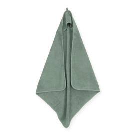 Badcape badstof ash green Jollein