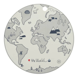 Placemat The World - OYOY