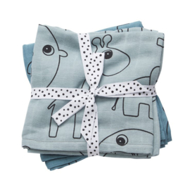 Swaddle Done by Deer - blauw