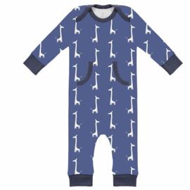 Fresk kruippakje / pyjama Giraf indigo blue