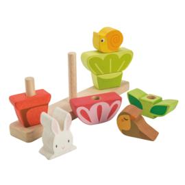 Stapeltuin van hout - Tender Leaf Toys