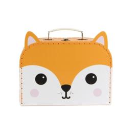 Koffertje Hiro Fox klein - Sass & Belle