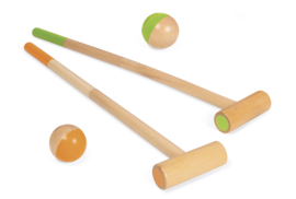 Croquet spel bosdieren - Janod