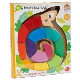 Kleuren en vormen slang - Tender Leaf Toys