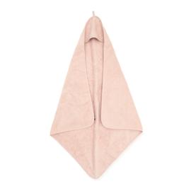 Badcape badstof pale pink Jollein