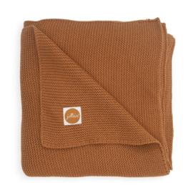 Deken Basic knit caramel- Jollein