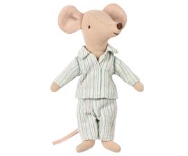 Maileg grote broer muis in pyjama