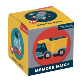 Memoryspel Transport - Mudpuppy