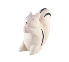 Eekhoorn van hout - T-lab