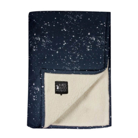 Mies en co Soft teddy blanket Galaxy (Parisian Night) - Ledikant
