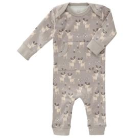 Fresk kruippakje / pyjama Deer ash grey