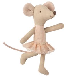 Maileg Ballerina muis in koffertje