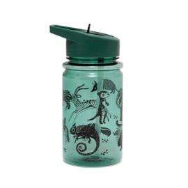 Drinkfles wilde dieren groen - Petit Monkey