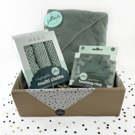 Giftbox Jollein ash green