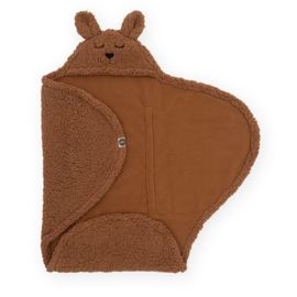 Wikkeldeken Bunny Caramel - Jollein