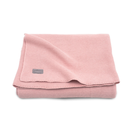 Deken Basic knit blush pink - Jollein
