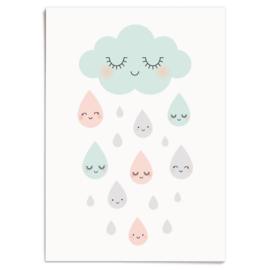 Poster Douce pluie