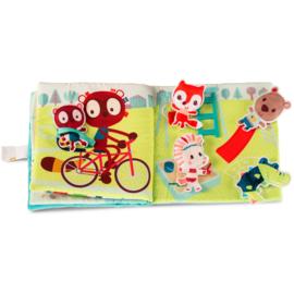 Stoffen babyboek Louise en vriendjes - Lilliputiens