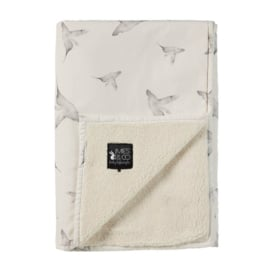 Mies en co Soft teddy blanket Little Dreams - Ledikant (offwhite)