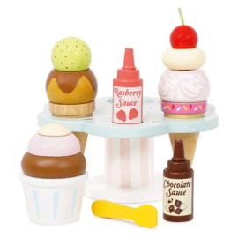 Houten ijshouderset - Le Toy Van