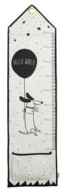 Hello World Measuring board - OYOY
