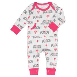 Fresk kruippakje / pyjama Elefant Pink