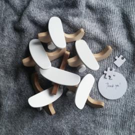Houten vliegtuig en helicopter - Pinch Toys