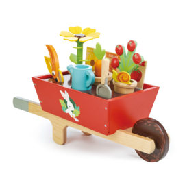 Tuinset in kruiwagen - Tender Leaf Toys