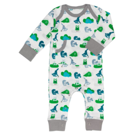 Fresk kruippakje / pyjama Ekhorn Green