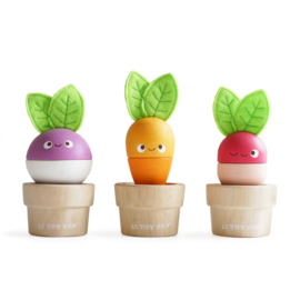 Stacking veggies - Le Toy Van