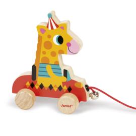 Trekfiguur Giraf Janod