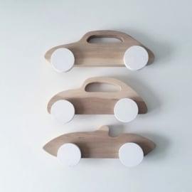 Houten sportauto's - Pinch Toys