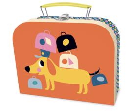 Koffertje Vilac Hond op reis