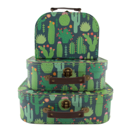 Koffertje Cactus van Sass & Belle