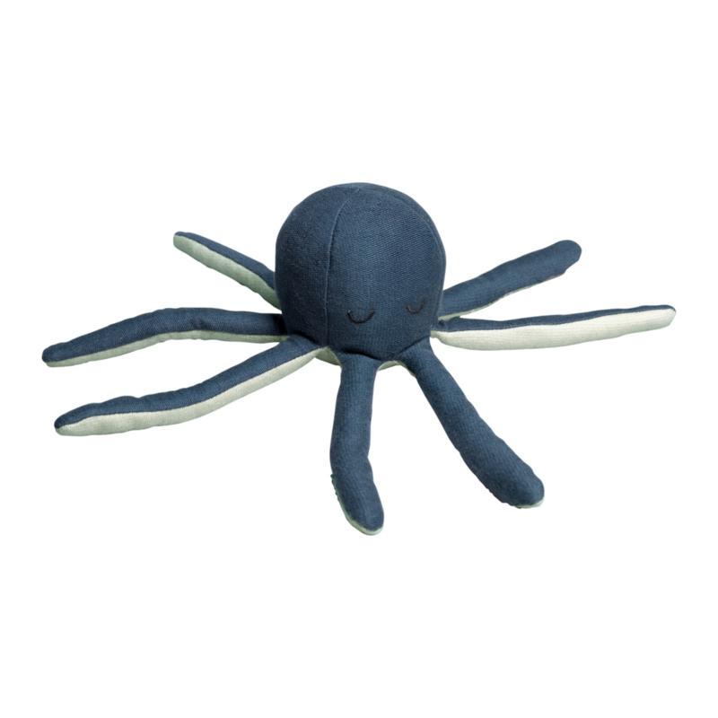 Octopus rammelaar blauw FABELAB