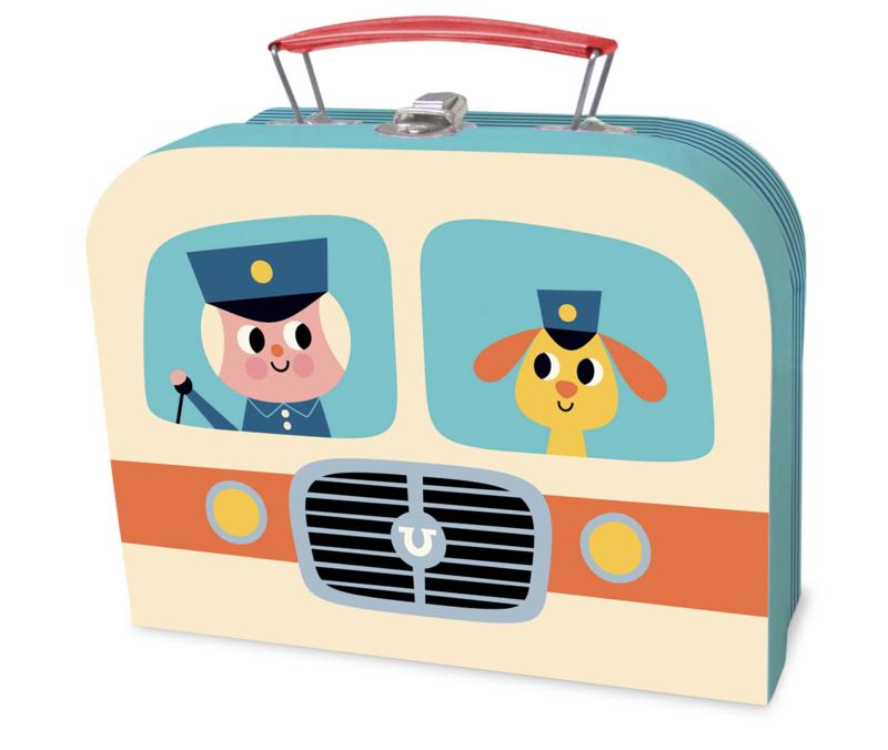 Koffertje Vilac Hondje en chauffeur