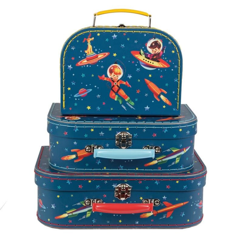 Retro koffertje Space