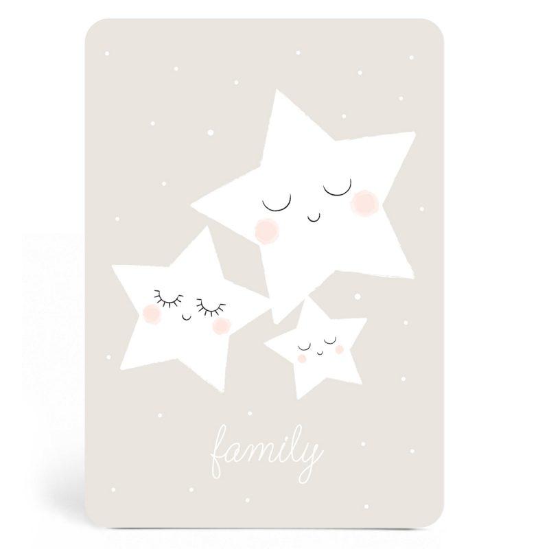 Ansichtkaart Family