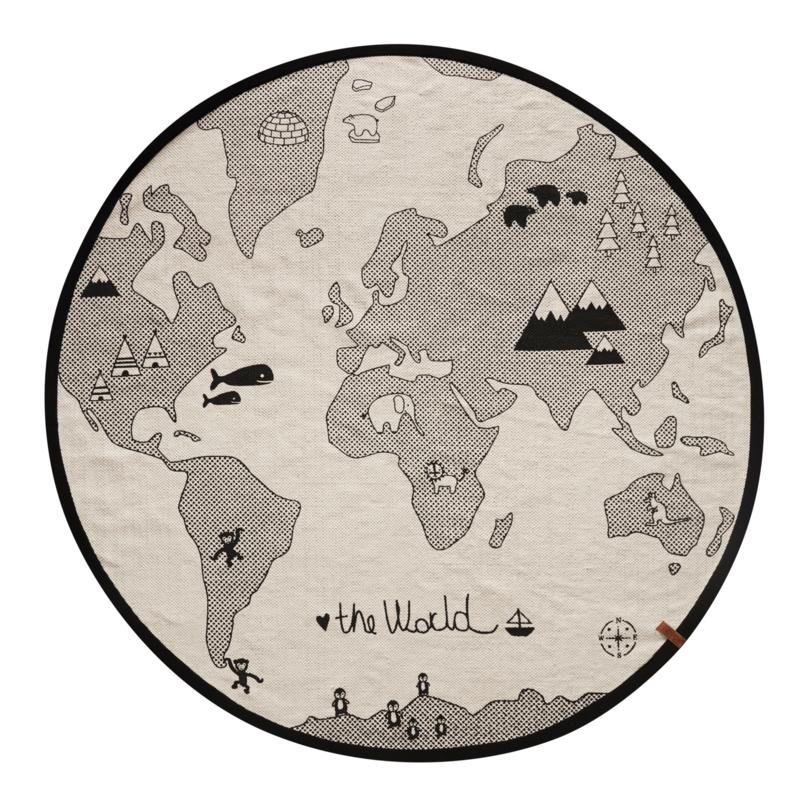 OYOY vloerkleed The World