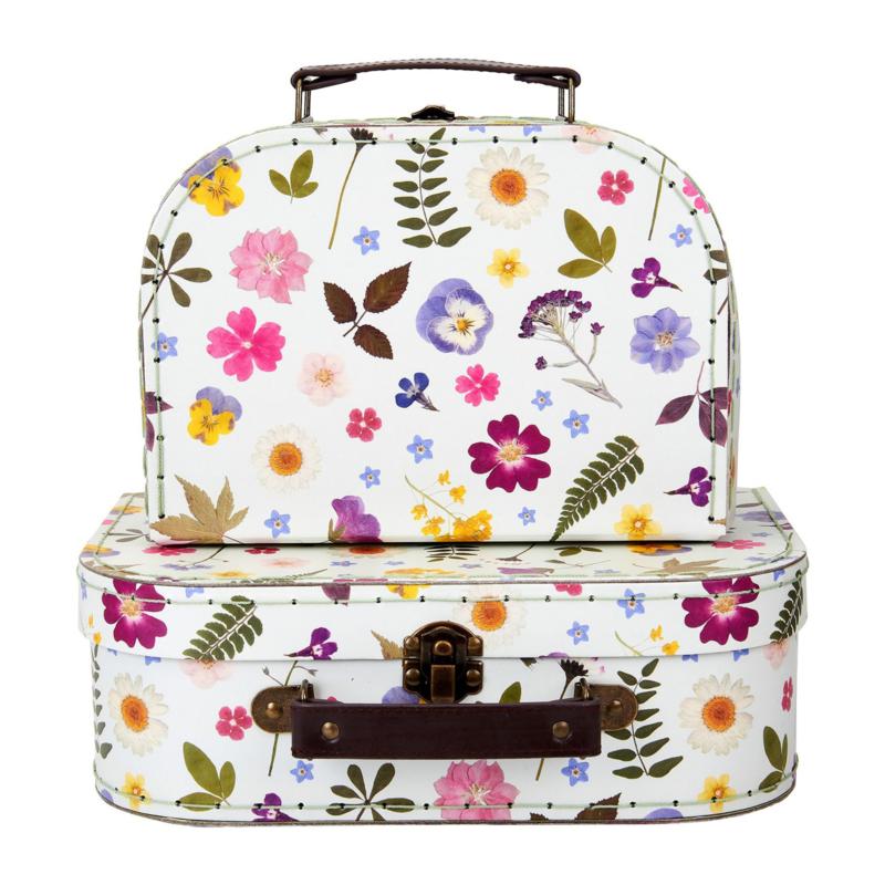 Koffertje Bloemen van Sass & Belle