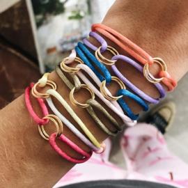 Armband cartierknoop Infinity goud
