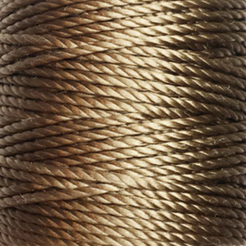 Nylon Koord S-Lon 0,9 mm Beige