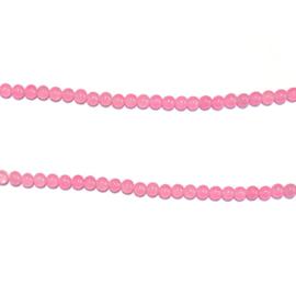 Streng kralen Roze jade 39 cm