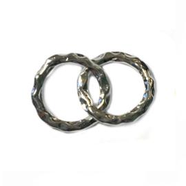 Bedel Infinity ringetjes Zilver