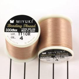 Miyuki Beading Thread 330dtex 04 Beige bruin